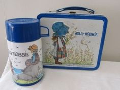 I had this Holly Hobbie lunchbox in Elementary School.
