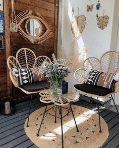 Home Design Living Room, Interior Design Living Room, Living Room Decor, Design Ikea, Small Balcony Decor, Balcony Ideas, Hall Furniture, Decoration Design, Apartment Living
