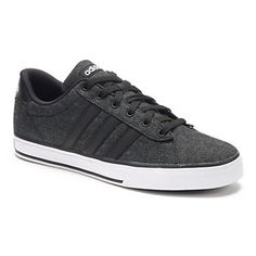 9903d4e69bb5 adidas SE Daily Vulc Mens Denim Sneakers Denim Sneakers