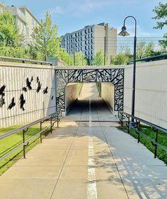 Randal Thurston, Yerxa Road Underpass (2006) #CambMA. DiscoverNorthCambridge.com