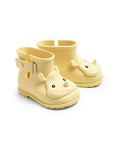 Mini Melissa Infant's Rhino Rain Boots