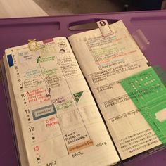 """dragonflykeep: """" It's planner time! I love ending my days reviewing my planner…"""