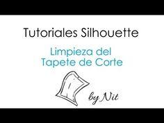 ▶ Limpieza del Tapete de Corte de Silhouette (Español) - YouTube