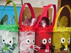 Diy For Kids, Crafts For Kids, Silk Flower Arrangements, Crafty Kids, Easter Baskets, Easter Crafts, Silk Flowers, Reusable Tote Bags, Lily