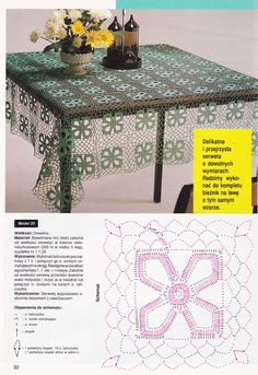 Crocheted motif no. Crochet Diagram, Crochet Motif, Free Crochet, Crochet Patterns, Crochet Tops, Crochet Table Topper, Crochet Tablecloth, Lace Doilies, Crochet Doilies