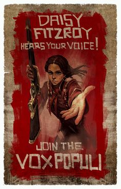 Join the Vox Populi! Irrational Games Announces E-Book Prequel to BioShock Infinite Bioshock Infinite, Bioshock Game, Bioshock Series, King's Quest, Irrational Games, Vox Populi, Fanart, Steampunk, Video X