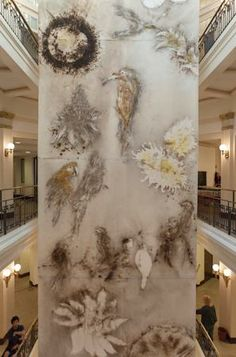 Birds and Flowers of Brazil | Cai Guo-Qiang