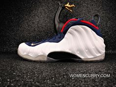 more photos a9e6f 57c30  Olympic  Nike Air Foamposite One Black White Authentic