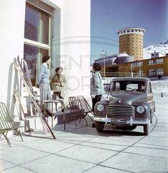1954 - FIAT 500 C Belvedere al Sestriere