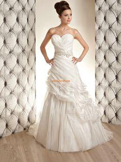 Princess-Stil Glamourös & Dramatisch Reißverschluss Brautkleider 2014