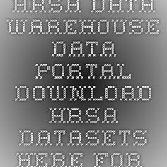 HRSA Data Warehouse - Data Portal - download HRSA datasets here for mapping