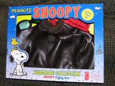 Peanuts Snoopy Flying Ace Pilot Outfit For Plush Doll from Kohls Wardrobe Collection @ niftywarehouse.com #NiftyWarehouse #Peanuts #CharlieBrown #Comics #Gifts #Products