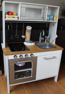 Ikea kinderküche verschönern  DIY | Kochen wie die Mama | Unsere Ikea DUKTIG Spielküche | IKEA ...
