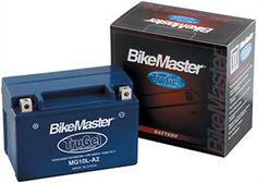 BikeMaster TruGel Battery MG12-BS APRILIA HONDA KAWASAKI SUZUKI YAMAHA KYMCO etc