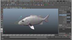 """A 2 part video explaining how to set up the """"auto-swim"""" portion of a fish rig using expressions (specifically using the sin() function).  Part 1 is the basics of what we're doing and how to start setting it up, Part 2 is adding some more advanced functionality for the rig."""