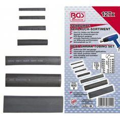 127 piezas de manguera termoretractiles www.motortool.es
