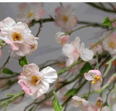 Artificial Peach Blossom Branches | 38 inches