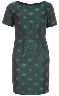 6901911bc843 Womens bottle green dress from Dorothy Perkins - £30 at  ClothingByColour.com Winter Wedding