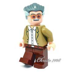 Custom Lego Stan Lee   eBay