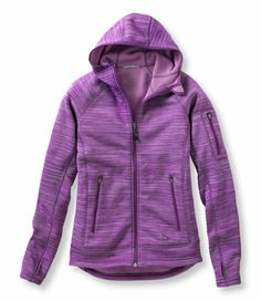 Polartec Power Stretch Hoodie: Casual Jackets | Free Shipping at L.L.Bean