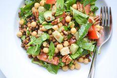 Lunch Salade van Peulvruchten - Blij Suikervrij