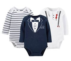 d43706ad9b69 Fashion Baby infant Rompers Newborn boy clothing Round Collar Cute One-piece  Baby Clothes Unisex Baby Clothes