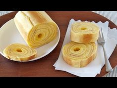 How to Make Baumkuchen (German Layered Cake) at home バームクーヘンの作り方 (レシピ) - YouTube