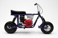 Taco Mini Bikes - The Ultimate Mini Bike of the 1960's is back