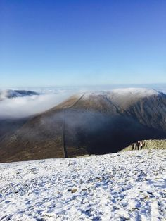 View from Slieve Donard