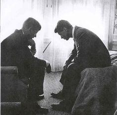JFK & RFK.... My favorite historical photo