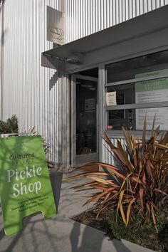 A shop in Berkeley that pickles many things...a perfect gift idea for someone I love. The Cultured Pickle Shop. 510-540-5185.