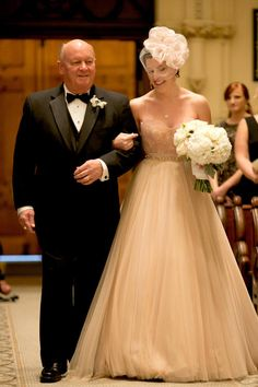 Our bride in the @watterswtoo Carina corset and Ahsan skirt in Rosegold for the Baltimore Bride magazine