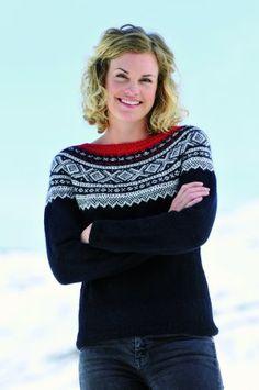 Ravelry: Marius-genser rund sal pattern by Unn Søiland Dale Fair Isle Knitting, Knitting Yarn, Baby Knitting, Knitting Machine, Norwegian Style, Norwegian Knitting, Cardigans, Knit Sweaters, Winter Sweaters