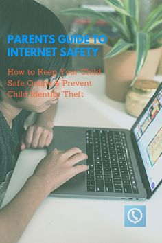 High exposure to the internet makes it necessary to teach kids how to protect themselves online. Whether it be from predators, identity thieves, cyberbullies, or inappropriate material, parents need to show their children how to protect themselves and avoid dangerous situations. #internet #safety #parents #identitytheft Identity Thief, Internet Safety, Safety Tips, Teaching Kids, Your Child, Parents, Children, Fathers, Boys