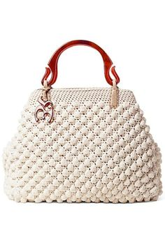 Discover thousands of images about Stylish crochet bag More Clothing, Shoes & Jewelry : Women : handbags and purses for women Bag Crochet, Mode Crochet, Crochet Handbags, Crochet Purses, Crochet Crafts, Bolero Crochet, Bobble Crochet, Bobble Stitch, Crochet Stitch