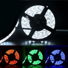 Solarphy 16.4ft (5m) LED Strip Light Waterproof SMD 5050 RGB 300 LEDS Flexible Color Changing Rope Light RGB LED Strip Kit with 12V 5A Power Supply & 44 Keys Remote Controller For Home Kitchen -- Awesome products selected by Anna Churchill