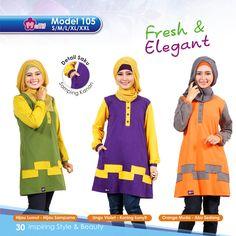 """Koleksi Tunik Mutif terbaru 2015-2016, No Limit Senzation! :D  Ayo segera dapatkan melalui Agen Mutif dan Distributor Mutif terdekat! Cek info alamat lengkap dan nomor teleponnya disini: http://bit.ly/1dOFu0B  Mutif, """"Inspiring Style and Beauty, Inspiring The Beauty of Islam"""" :)  #BusanaMuslim #Fashion #FashionMuslim #MutifCorp #Tunik #TunikMutif #MuslimahIndonesia  www.mutif.co - www.mutif.id"""