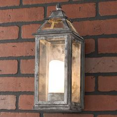 Weathered Black Small Outdoor Light