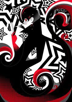 Persona Joker on Behance Persona 5 Game, Persona 5 Joker, Geeky Wallpaper, Iphone Wallpaper, 5 Anime, Anime Art, Akira Kurusu, Joker Art, Video Game Art