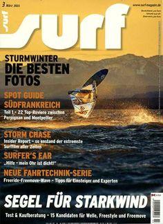 Segel für Starkwind. Gefunden in: surf, Nr. 3/2015