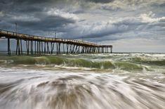 Outer Banks Nc Avon Pier Cape Hatteras - Fortitude Photograph