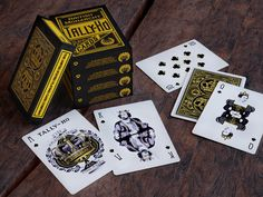 British Monarchy Tally-Ho Playing Cards, printed by USPCC's video poster