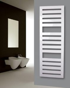 €450 Badheizkörper Zebra, 175 x 60 cm, 1302 Watt, weiss glänzend: Amazon.de: Baumarkt
