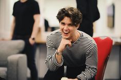 His laugh ; Bradley Will Simpson, Brad Simpson, Cute Boys, My Boys, Brad The Vamps, 1d And 5sos, Good Looking Men, To My Future Husband, Gorgeous Men