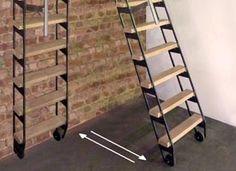 ZIP UP : échelle - escalier escamotable.                                                                                                                                                                                 Plus