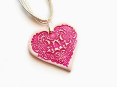 Pink and Bright by J. C. on Etsy