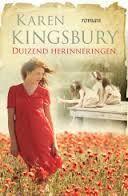 Zoek je nog een leuk Valentijns cadeau? Met de boeken van Karen Kingsbury zit je altijd goed. Nu bestellen morgen in huis haar nieuwste boek: Duizend Herinneringen. Zowel als gewoon boek en als Ebo…