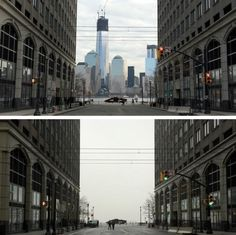"""""""Fogshop"""" - Before and after"""