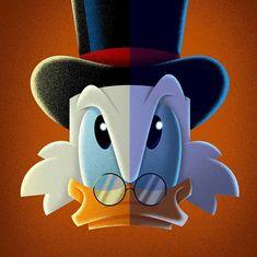David G. Disney Duck, Disney Art, Disney Pixar, Walt Disney, Disney Characters, Duck Tattoos, Uncle Scrooge, He Makes Me Smile, Graffiti Drawing
