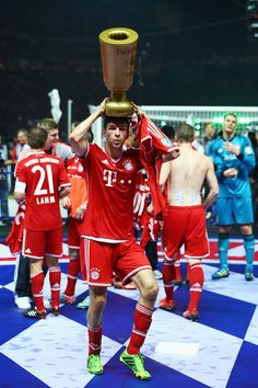 Müller always so funny...could become a comedian too after retiring from soccer LOL